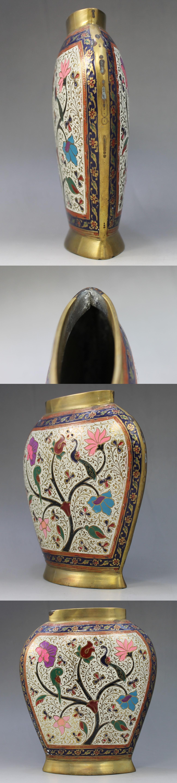 七宝花瓶3