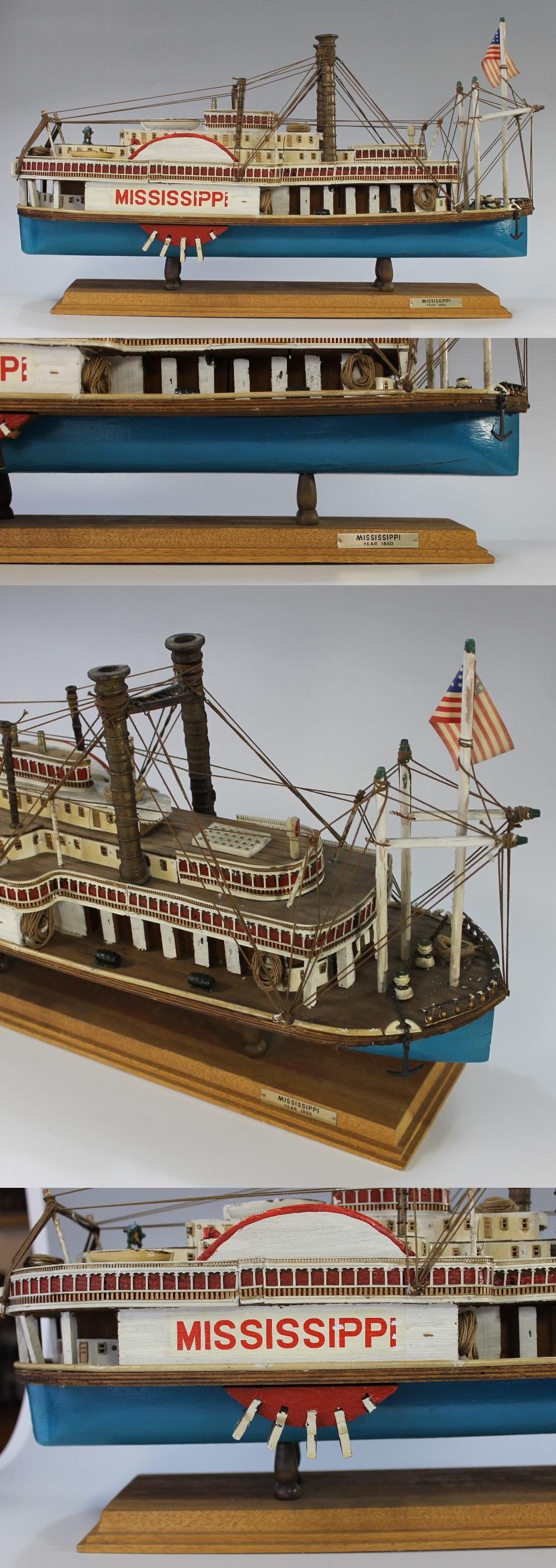 054蒸気船模型3