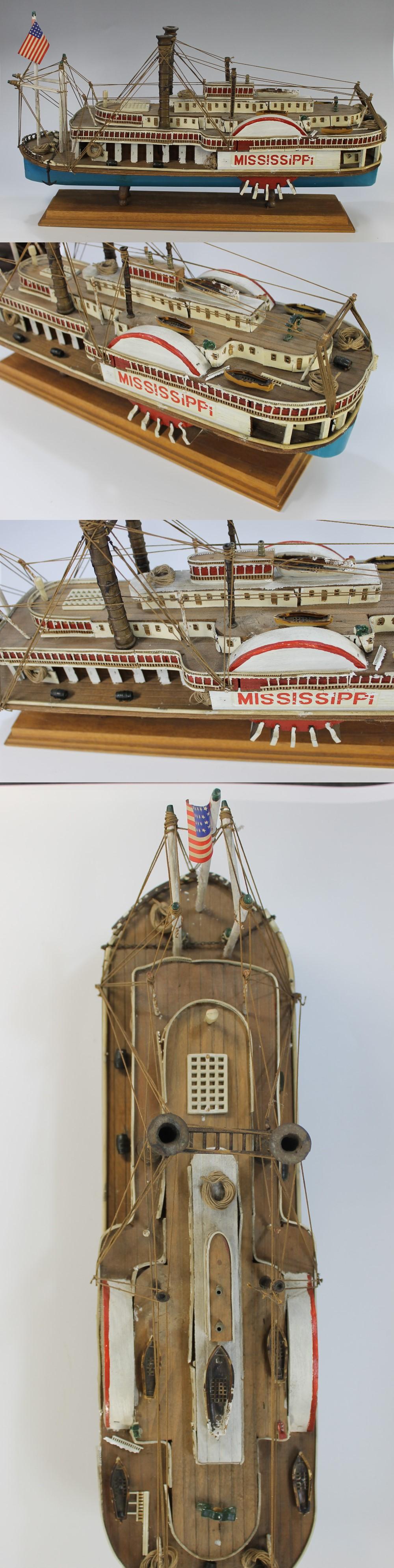054蒸気船模型1