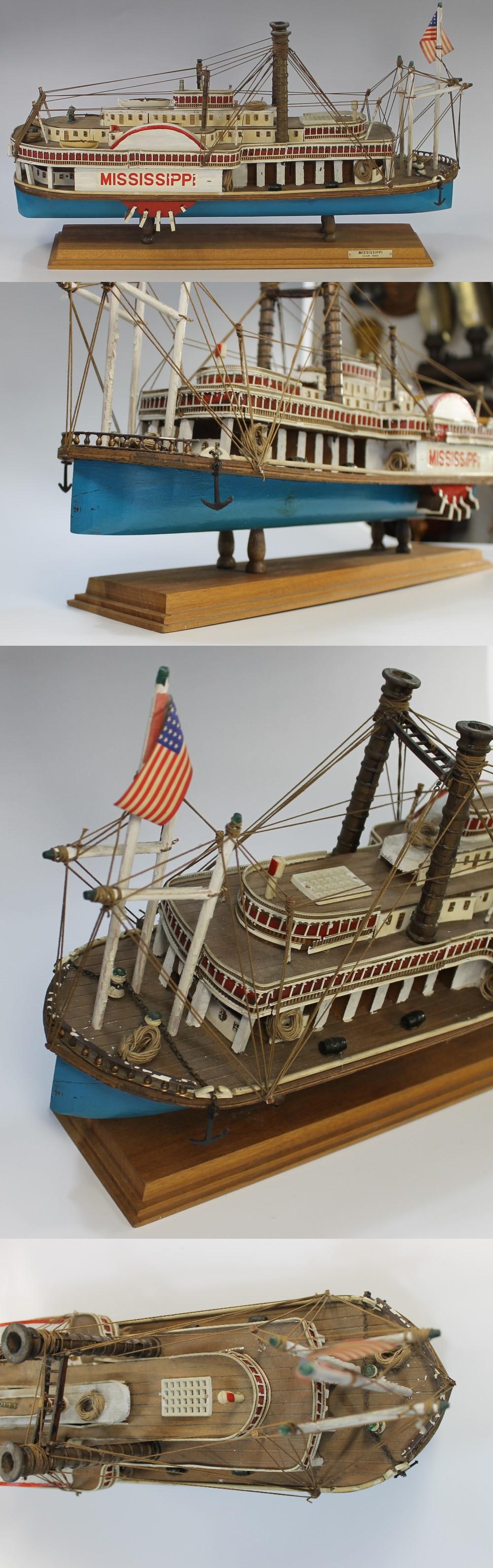 054蒸気船模型2