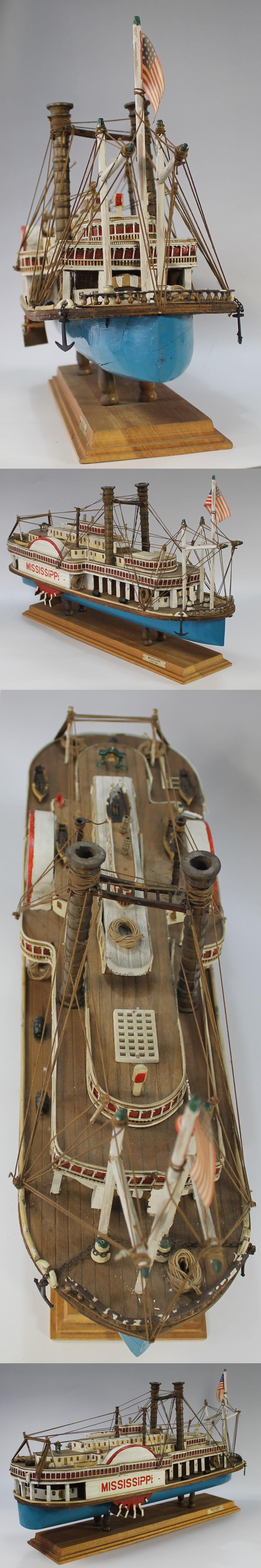 054蒸気船模型5