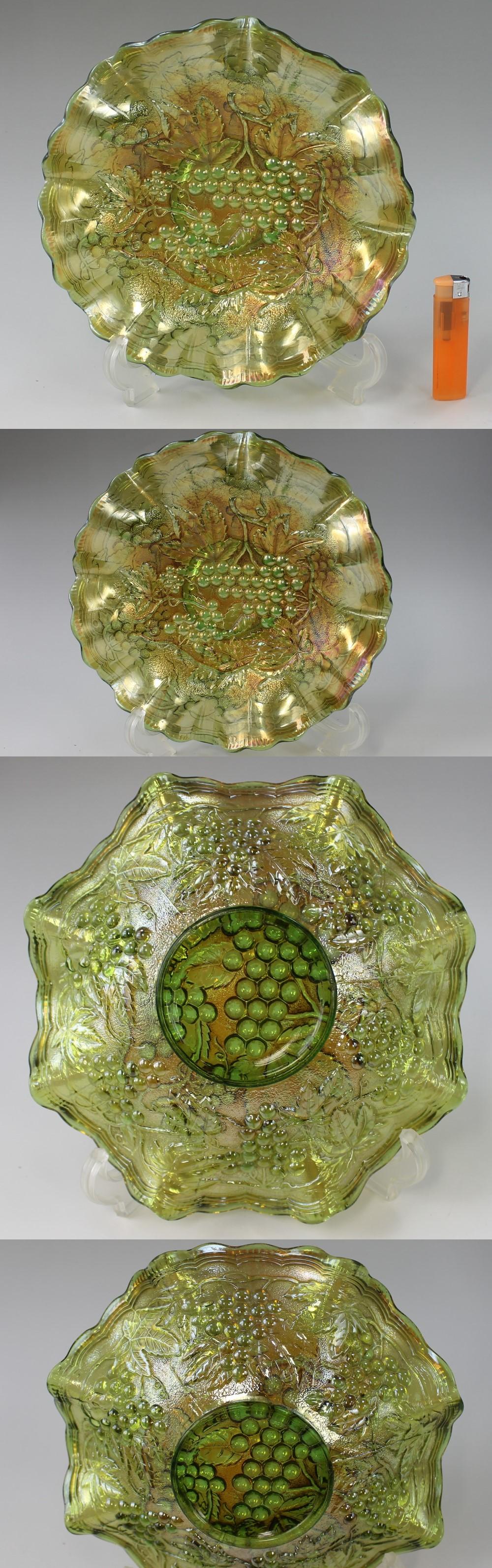 234カーニバル皿(葡萄柄)1