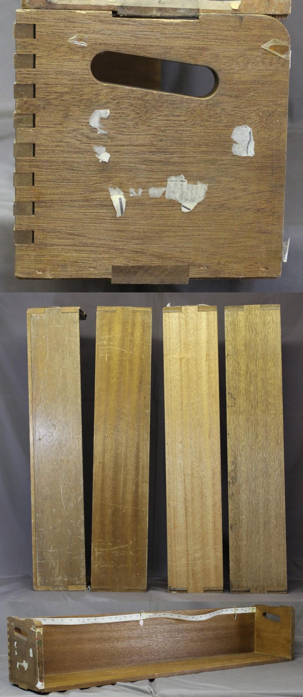 155木製本立て第三組4