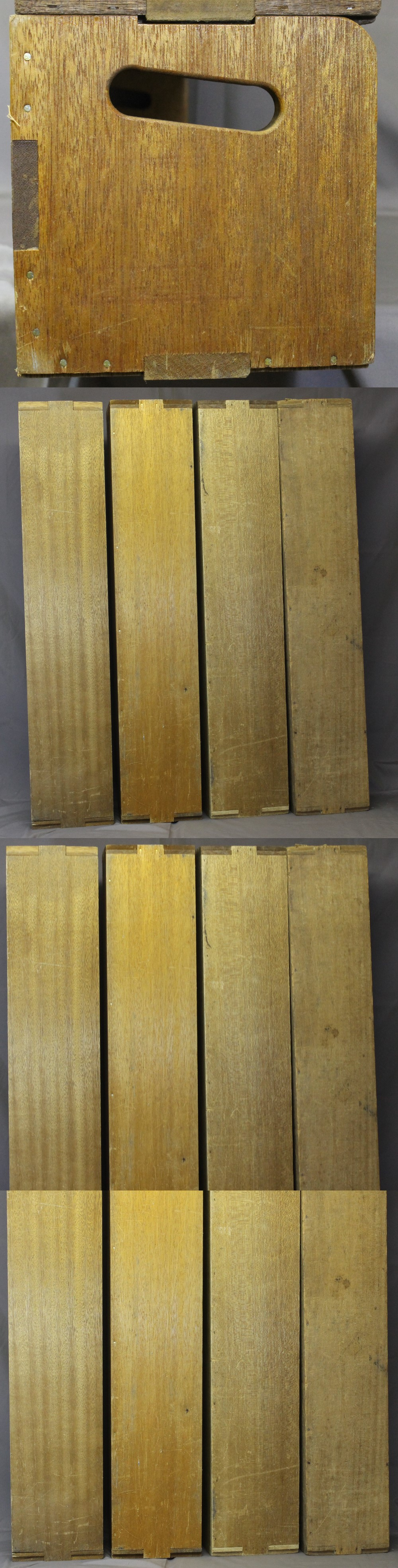157木製本立て第五組5