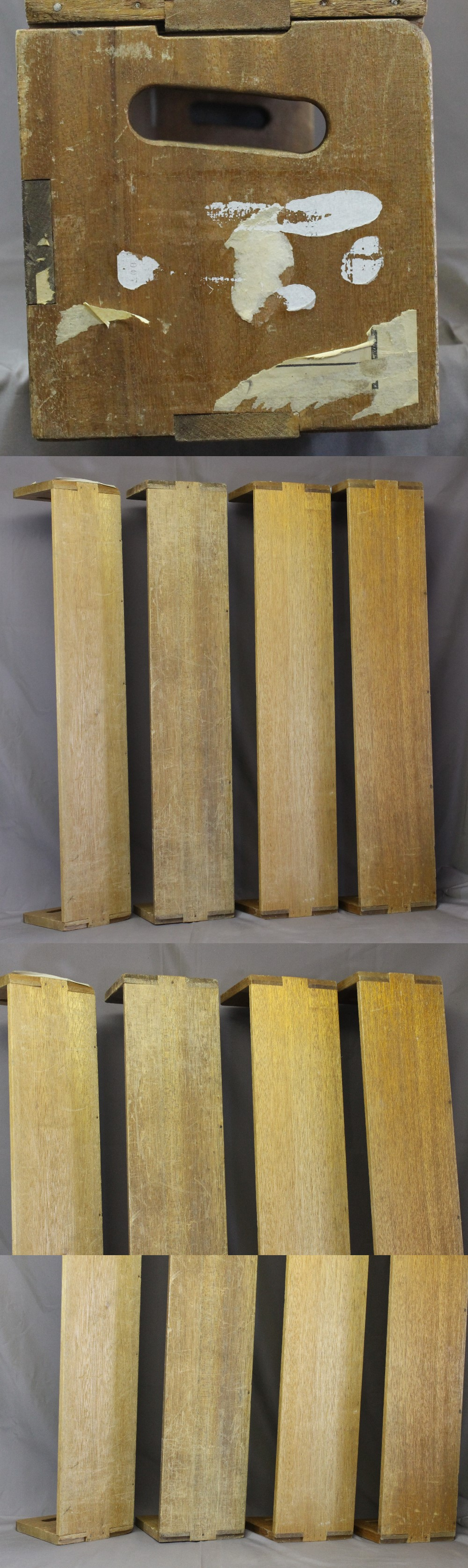 154木製本立て第二組4