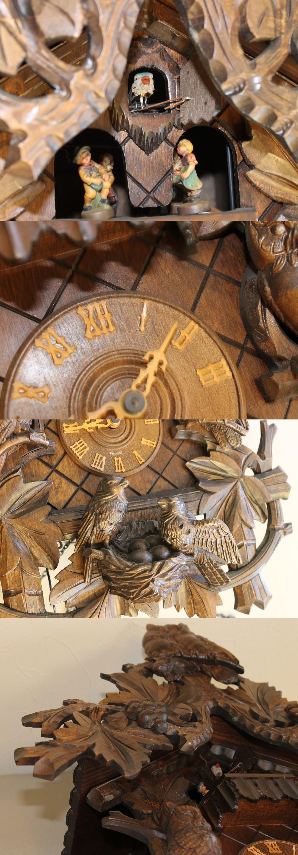 133フクロウ時計2