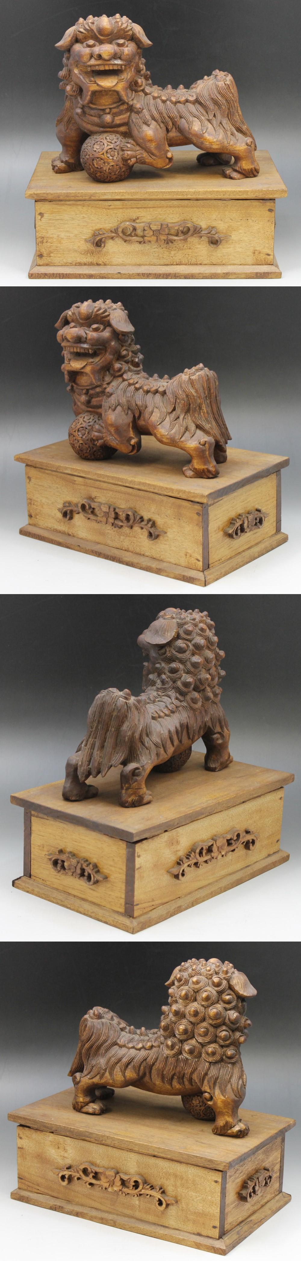 315木製獅子4