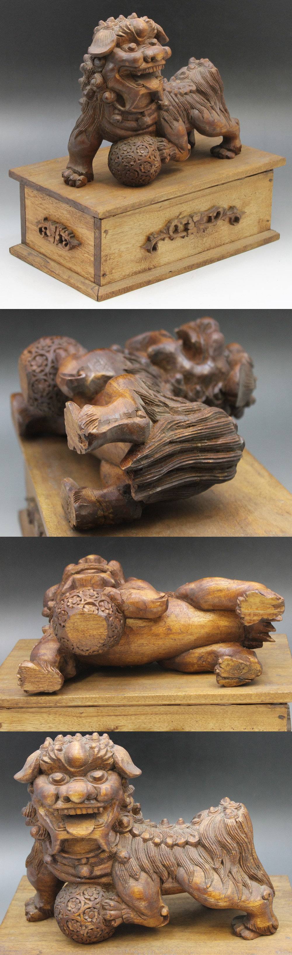 315木製獅子5