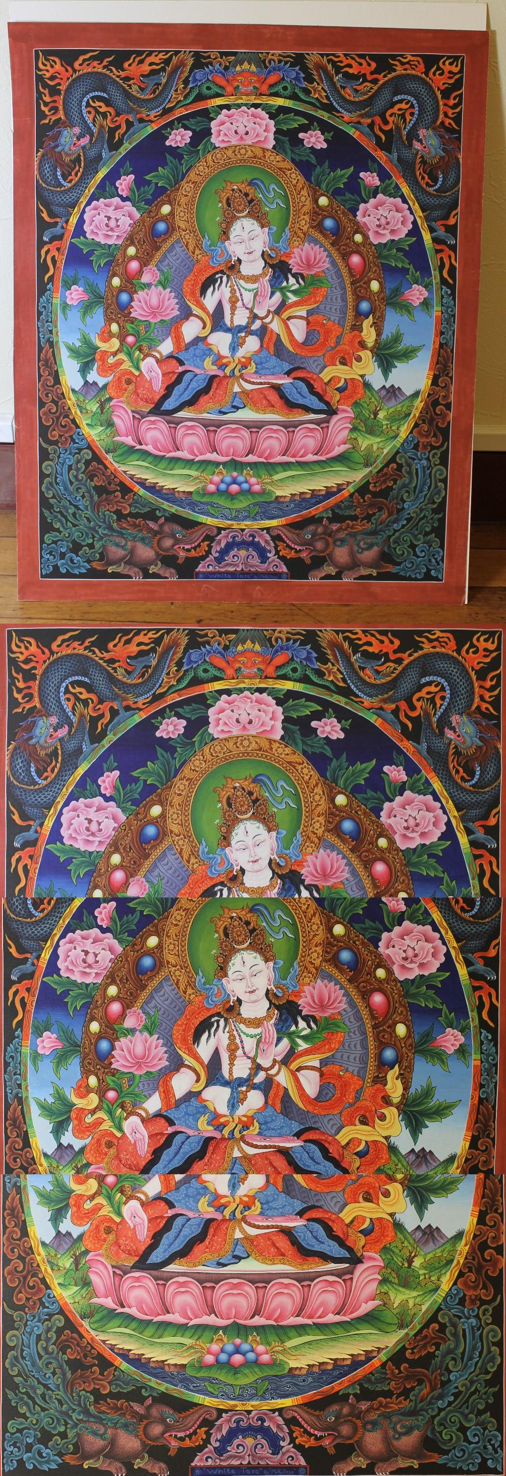 143チベット仏画1