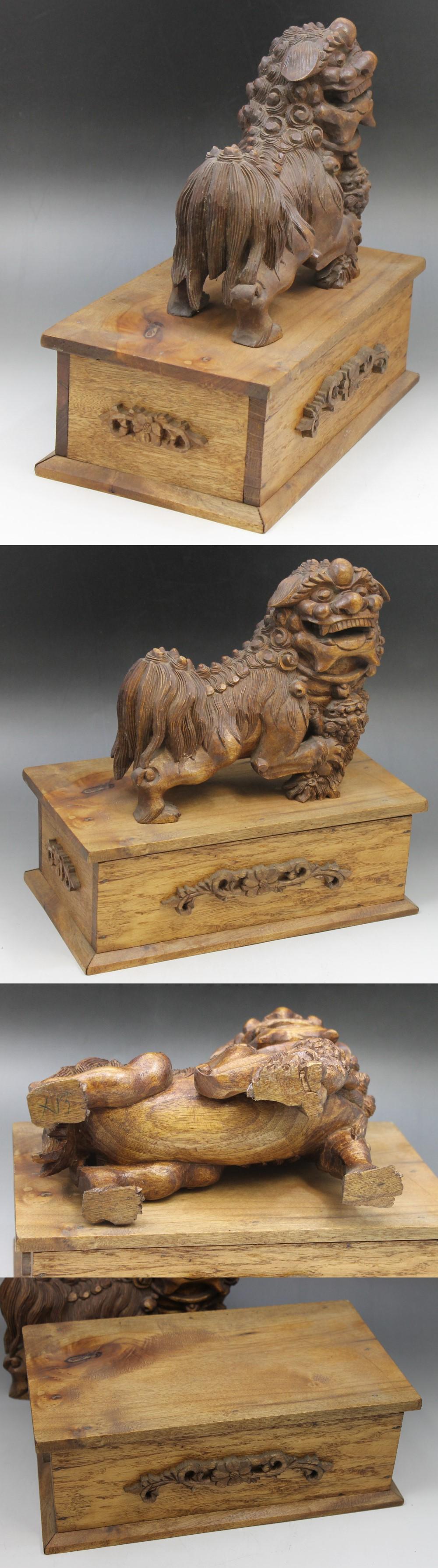315木製獅子2