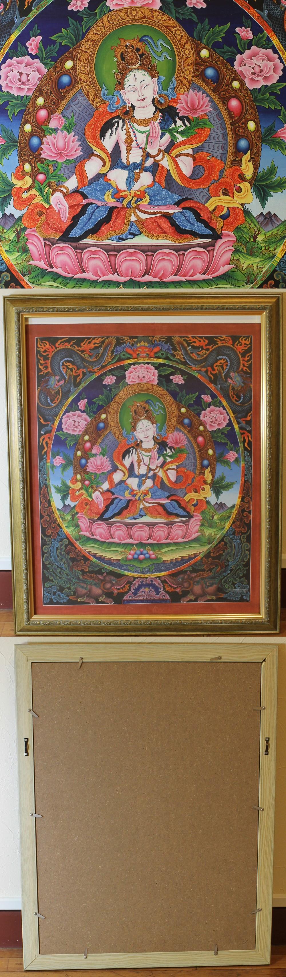 143チベット仏画2